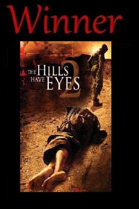 Winner The Hills Have Eyes 2007